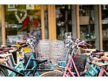 Cyklar att hyra vid Djurgårdsboden, Royal Djurgården