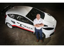 JC Raceteknik satsar på Supercar – Bryntesson och Fröshaug bakom ratten i RallyX Nordic