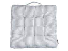 Chair cushion futon HOSTA 40x40x5 bluewhite (69,95 DKK)