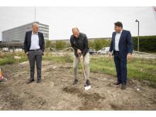 Første spadestik tages til det nye Zleep Hotel Copenhagen Arena