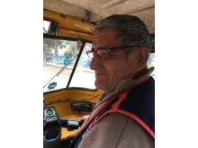 Chauffören Jubino, Optiker utan gränser 2017.