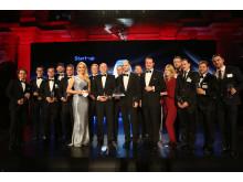 Preisverleihung Entrepreneur Of The Year 2015, Dr. Rolf Kluge (7. von links)