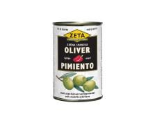 Zeta fyllda spanska oliver med pimiento