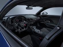 Audi R8 Coupé (Ascari Blue metallic) interiør