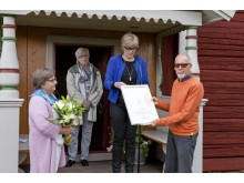 Vinnarna år 2015 av Dalarnas Byggnadsvårdspris