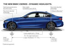 BMW 3-serie Sedan - highlights dynamik