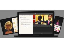 Plotagon & Plotagon Education run on iPad, Mac, PC and iPhone