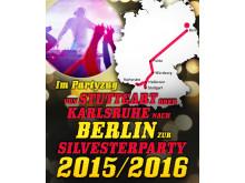 Silvester-Express 2015/2016 - Am 31.12.2015 nach Berlin