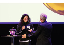 Healthy Business Awards 2016 Lena Nordin Björn Borg Ola Ahlvarsson
