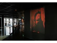 "THE THIEF viser frem Nancy Bundts sin fotoutstilling ""Purple Rain"""