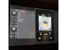 Vy över display och birdview på Next Gen