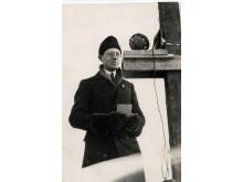 Sven Jerring premiärsände Vasaloppet 8 mars 1925. På söndag 8 mars 2015 är det 90 år sedan!