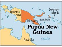 Brotherin ja ympäristöjärjestö Cool Earthin uusi ympäristönsuojeluhanke sijaitsee Papua-Uudessa-Guineassa