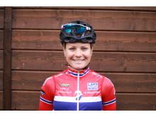Emilie Moberg på sykkellandslaget 2017