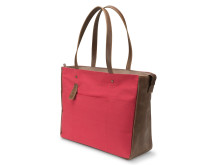 HP 14tommer Ladies Canvas Tote Red Left Facing HP20150727819