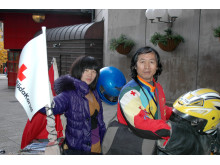 Chen Liangquan och hans 16-åriga dotter Chen You-You
