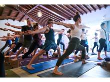 Rachel Brathens yogastudio på Aruba