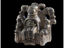 De skelsættende ni gram sølv. Kredit ROMU