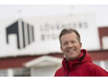 Patrick Sjölin på Lövångers Bygg
