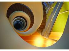 Swedbanks nya HK trappa underifrån