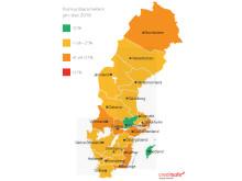 Konkursbarometer 2016 - karta