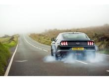 Mustang Bullitt på Isle of man
