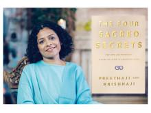 """Preethaji Sverigeaktuell med bokrelease """"The Four Sacred Secrets"""", Penguin"""