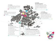 ESC kort over Malmø