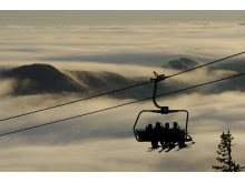 Skigebiet Trysil, das größte in Norwegen