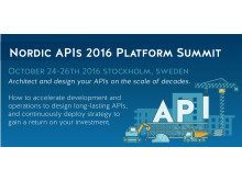 Nordic APIs 2016  Platform Summit