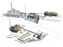 Mälarenergis nya kraftvärmeanläggning Block 7