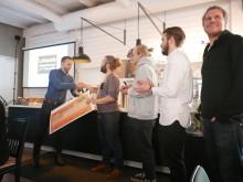 Leksands Extrema Idrottsföremomg, LEIF, tar emot 500.000 kronor till Leksands Skatepark