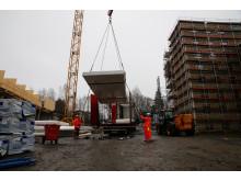 Kringsjå Studentby - byggeplass