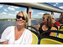 Open Top Tours - Hop On Hop Off-bussar
