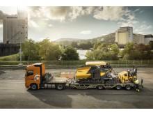 Volvo P4820D asfaltläggare - enkel transport
