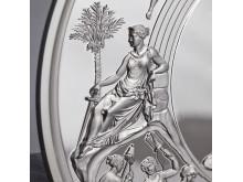 Pistrucci Waterloo Medal Obverse detail
