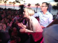 Politiker in action - Politikerbattle i Almedalen som arrangeras av Dagens Media