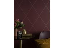 Wallpaper Robin 436-84/ design: Lotta Kvist