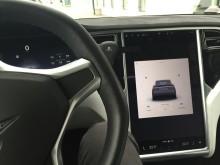 Interaktiv skjerm  i Tesla