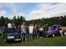 Järnskogs hembygdsförening vann arrangörstävlingen Kultur på väg på Motorhistoriska Dagen 2016. Foto May Dahlbeck.