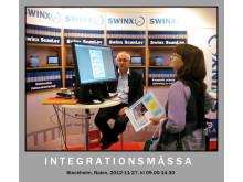 Swinx visar fakturaskanning på mässa i Stockholm med Visma
