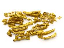 2. Et udsnit af guldspiralerne fra bronzealderen fundet ved Boeslunde