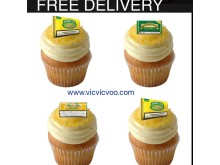 Illegal tobacco advertised on cupcakes