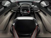 Audi PB18 e-tron (Circuit grey) cockpit