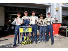 Team RTG Racing Polska 3:e plats i klass A3 Dubai 24H 2016