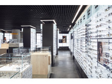 Det arkitektoniska konceptet erbjuder Eye Health och Eye Fashion under ett och samma tak