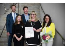 Utmerkelse fra HR Norge