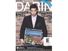 Elite Hotels presenterar konsert med Darin i Båstad