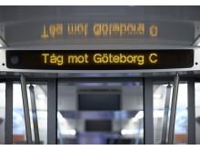 Tåg mot Göteborg C