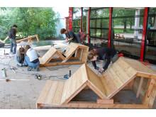 Spielplatzprojekt - Bauphase 3